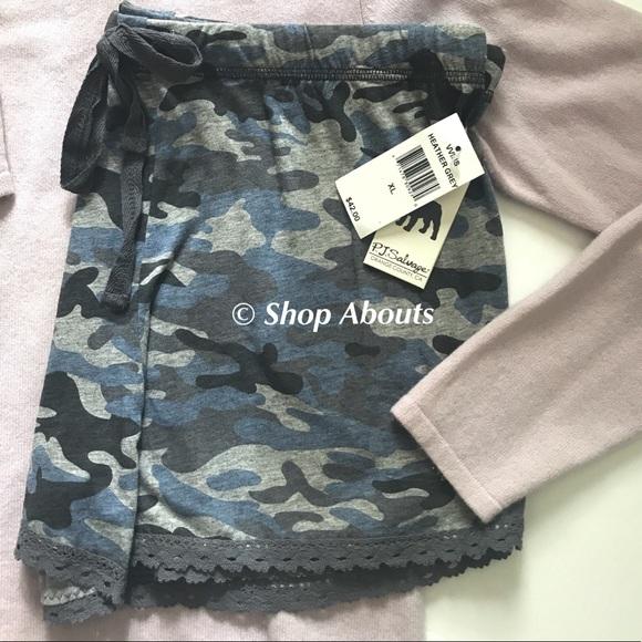 c15dba8e8172 PJ Salvage Camo Cute Comfy Pajama Shorts